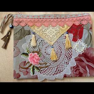 "Handmade Bag Size 10x 12 3/4"""
